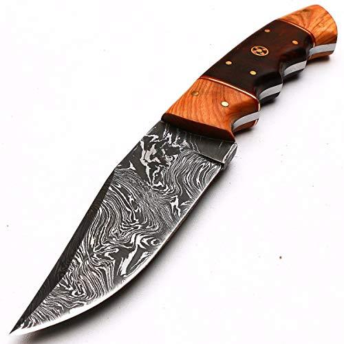 8998 - Cuchillo de Damasco (hecho a mano)