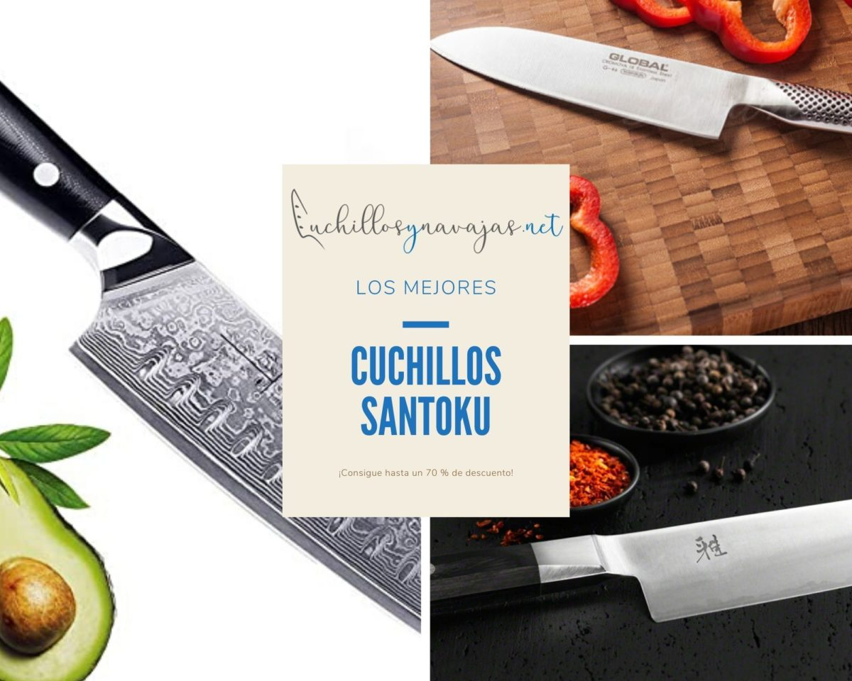 Cuchillos Santoku